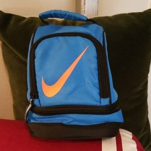 Nike Lunch Bag Blue and Orange